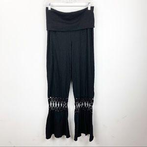 Prana wide leg pants